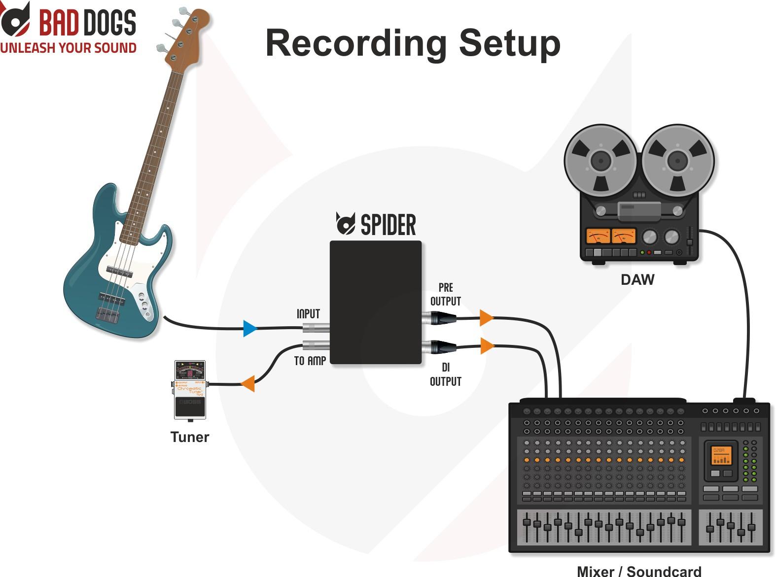Spider Use Case Recording Setup2